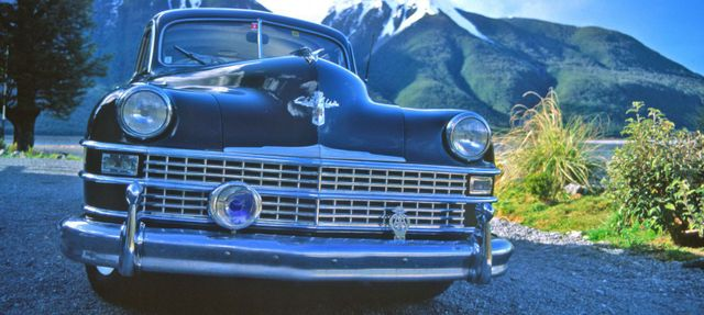 classic new zealand car