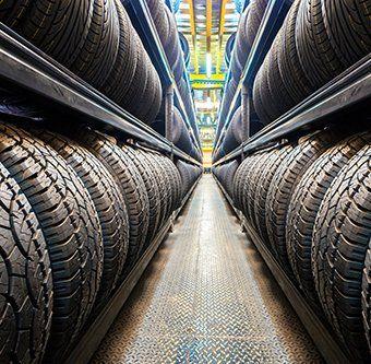Wide range of tyre