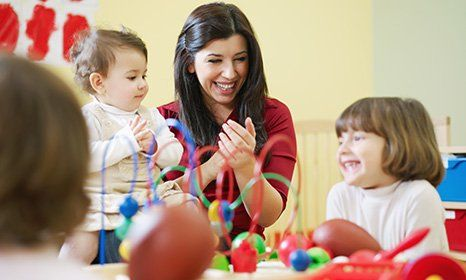 children enjoying a fun activity