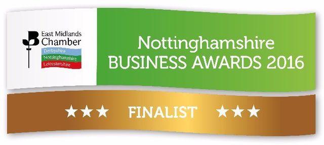 Notthinghamshire business awards 2016 logo