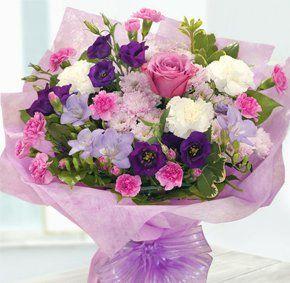 Flower shop - Stanraer, Wigtownshire - Andreas Florist - Basket