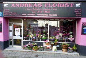 Andreas Florist shop front
