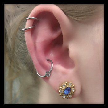 Unique ear piercing