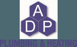 ADP Plumbing and heating logo