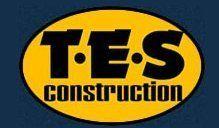 T.E.S Construction company logo