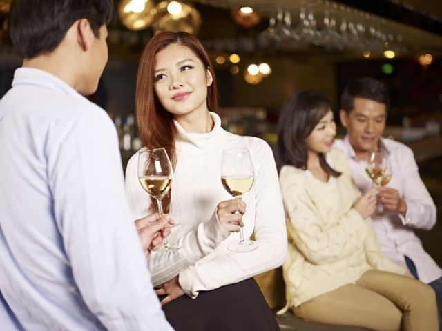 Asian professional dating events