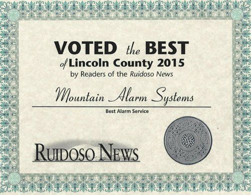 Voted the Best of Lincoln County Award