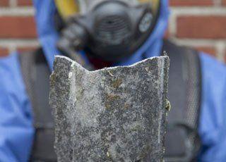 piece of asbestos