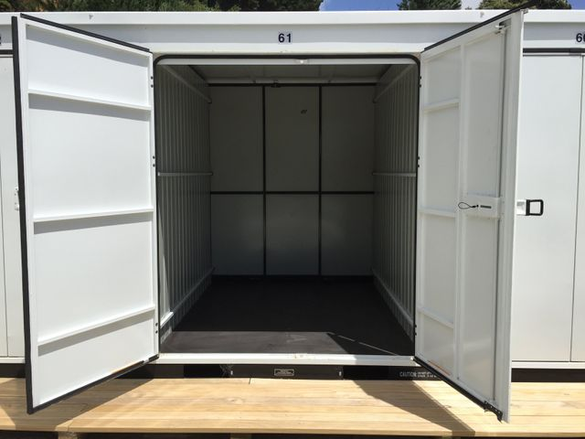 secure, portable container, container, parking available