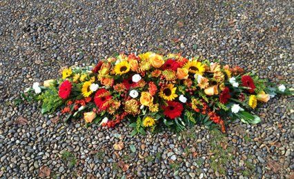 flowers for a tribute