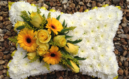 flowers for tribute