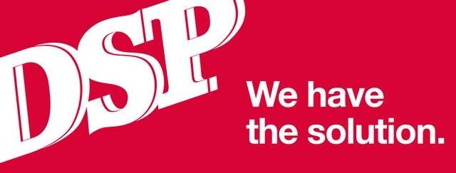 DSP - We have the Solution Company Logo