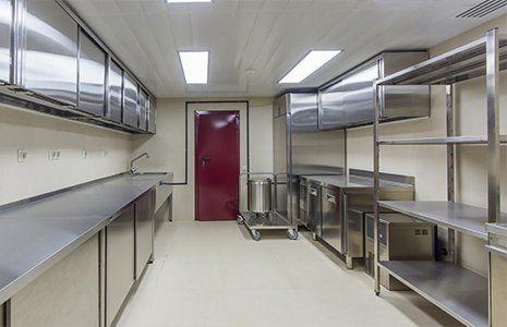 interno di una cucina professionale