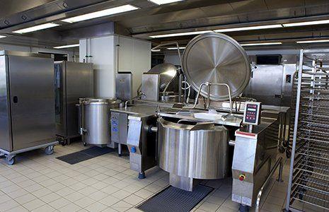 macchinario per produzioni alimentari industriali