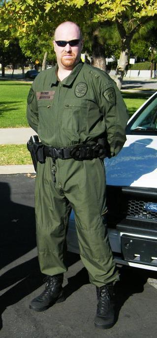 Professional uniformed guards