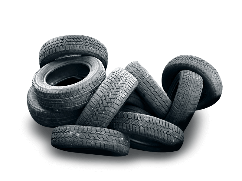 Recycle old and part-worn tyres, call Metallon Derby Ltd