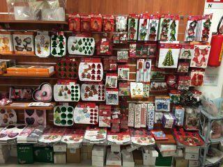 delle confezioni in tema natalizio