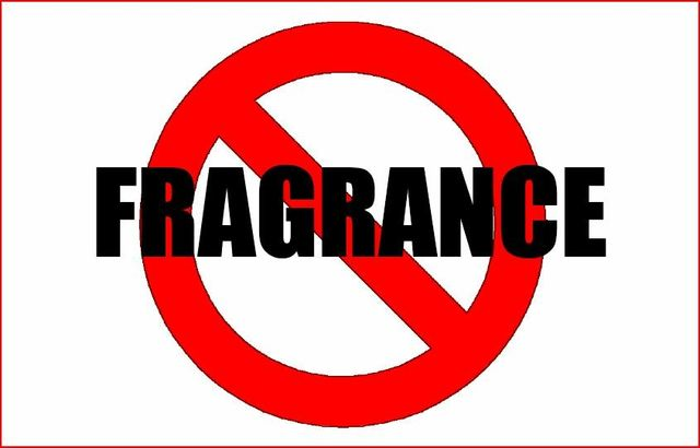 Fragrances are made from chemicals