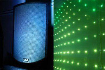 Speaker light wall