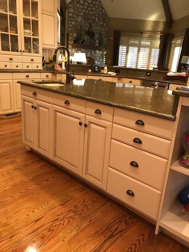Kitchen Cabinet Refinishing & Painting Charlotte, Cornelius ...