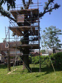 Domestic Scaffolding For Home Improvements In Suffolk