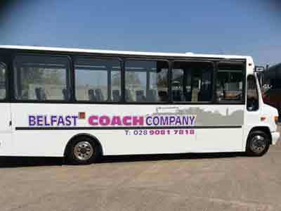 Superbly equipped coaches