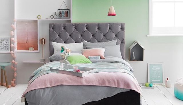 Step Into Spring Home Décor Pastel Colored Inspiration