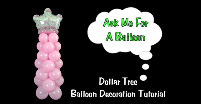 how to make a balloon stand up without helium