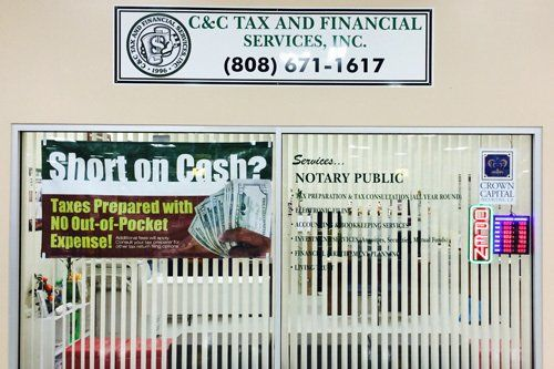 C & C tax & financial services' affiliations for giving your family trusted advice and service in Waipahu, HI