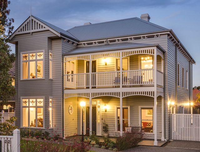 Harkaway homes classic victorian and federation verandah for Victorian kit homes