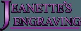 Jeanette's Engraving logo