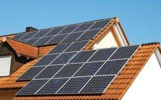 montaggio pannelli solari