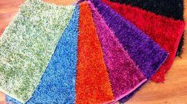 tappetini a pelo lungo, tappetini per la casa, tappetini olorati