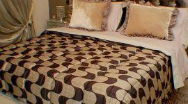 coordinati letto, lenzuola in raso, copriletto in seta