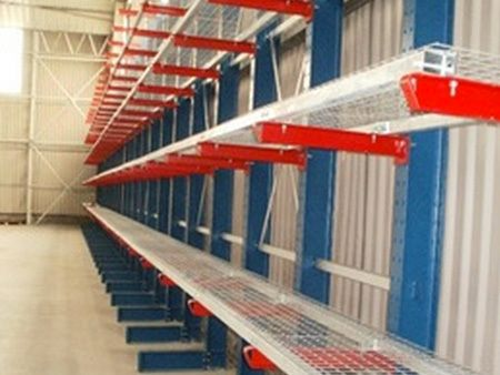 An example of cantilever racking services