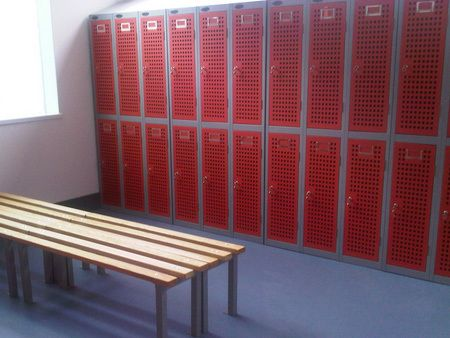 Example of lockers we provide in Belfast