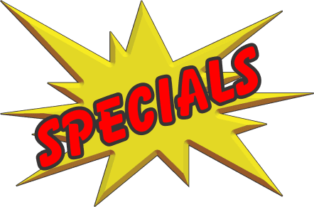 april may specials update
