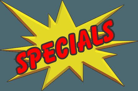 april may specials updateSpecials #14