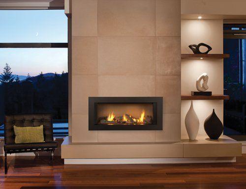 modern gas fireplace supplier - Nassau County, NY
