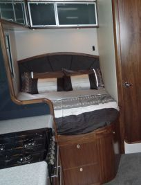 Interior of Origin Campervan