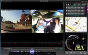 City Driving School in Montreal uses a DVR 2 channel camera to record and review driving lessons