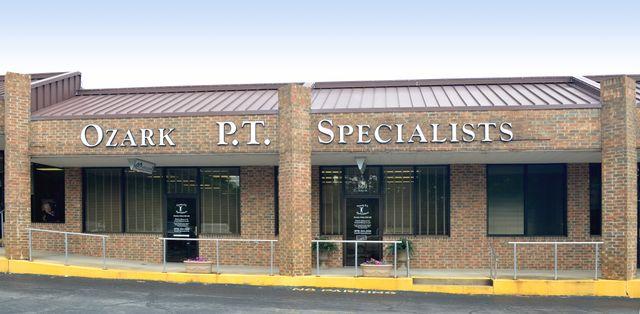 Ozark P.T. Specialists office building