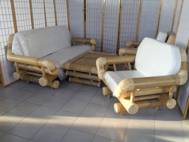 arredamento in rattan midollino naturale in bambu naturale vibre ...