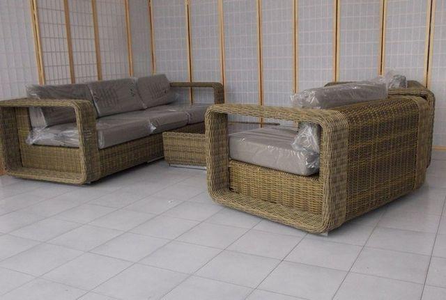 Salotto giardino rattan set mobili da giardino offerte for Arredo giardino rattan sintetico offerte