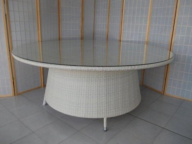 Tavolo Giardino Rattan Sintetico.Rattan Sintetico Salotti Tavoli Poltrone Per Esterno Giardini