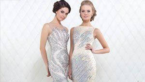 a wide range of gowns