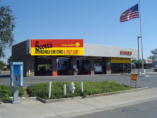 Scotts affordable car care in Citrus Heights