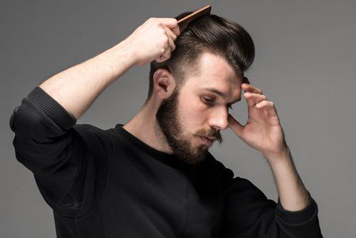 Taglio capelli uomo al parrucchiere unisex Madame Coiffeur a Vicenza