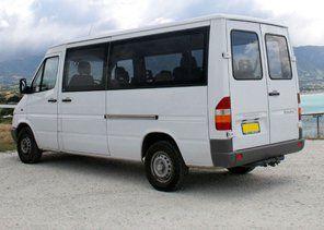 mini coach on site