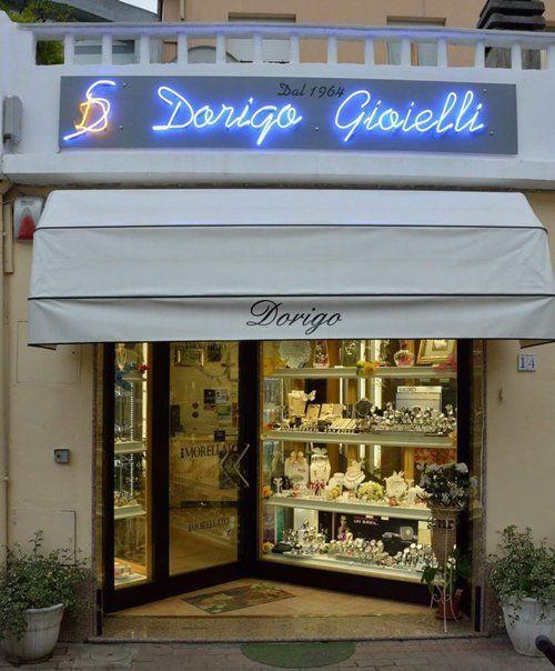 entrata della gioielleria SD DORIGO GIOIELLI